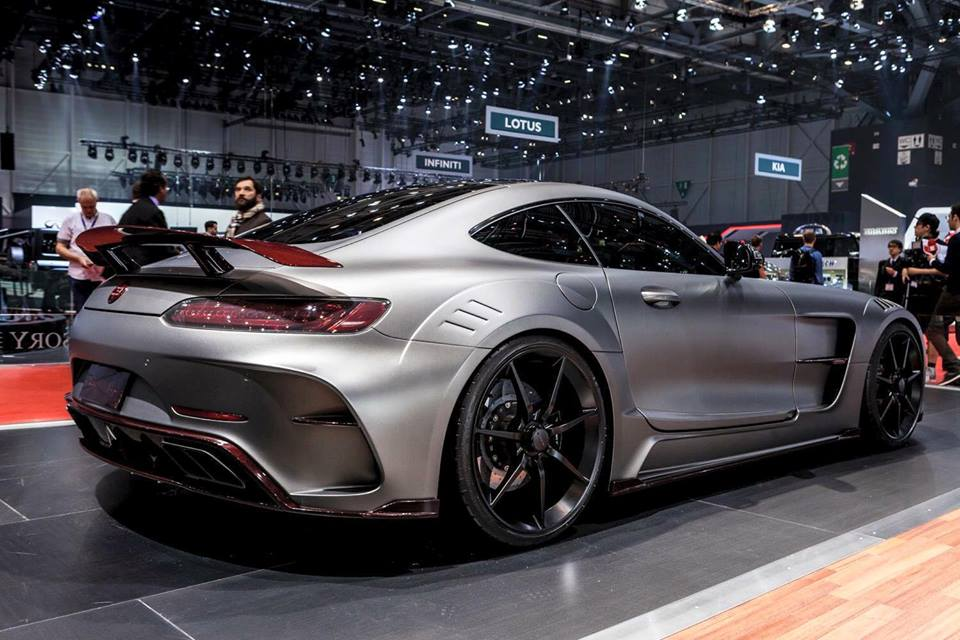 The Mansory Mercedes Amg Gt A 720hp Beast