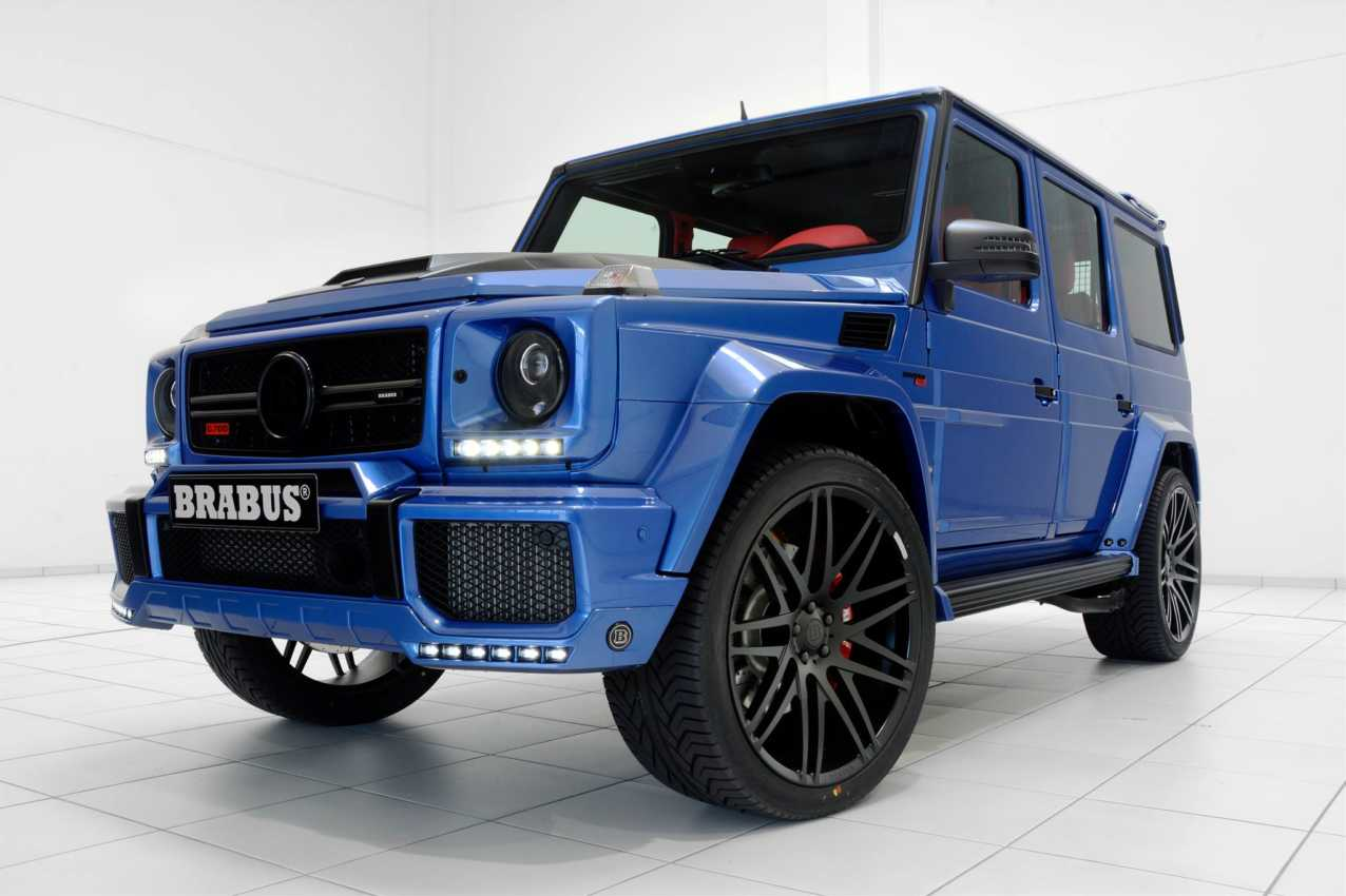 Brabus Expands Colors For G63 Amg