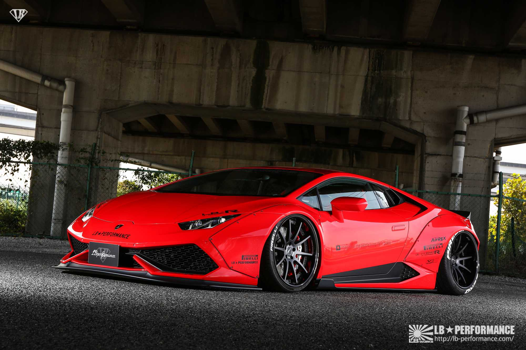 crazy lamborghini huracan by lb performance. Black Bedroom Furniture Sets. Home Design Ideas