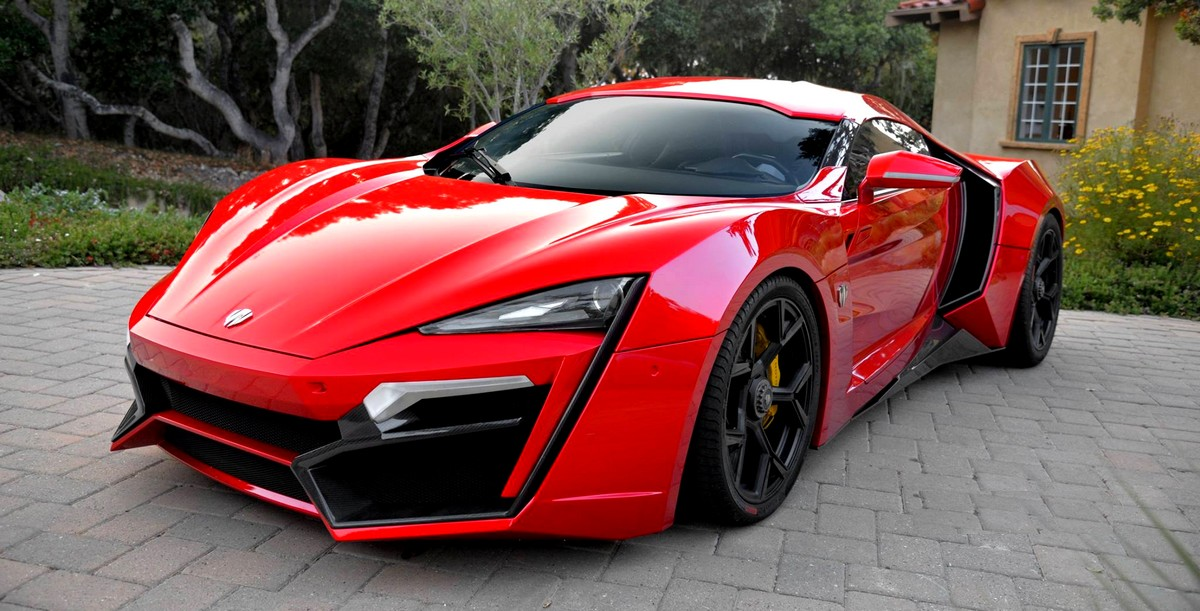 Red Lykan Hypersport From Fast Amp Furious 7
