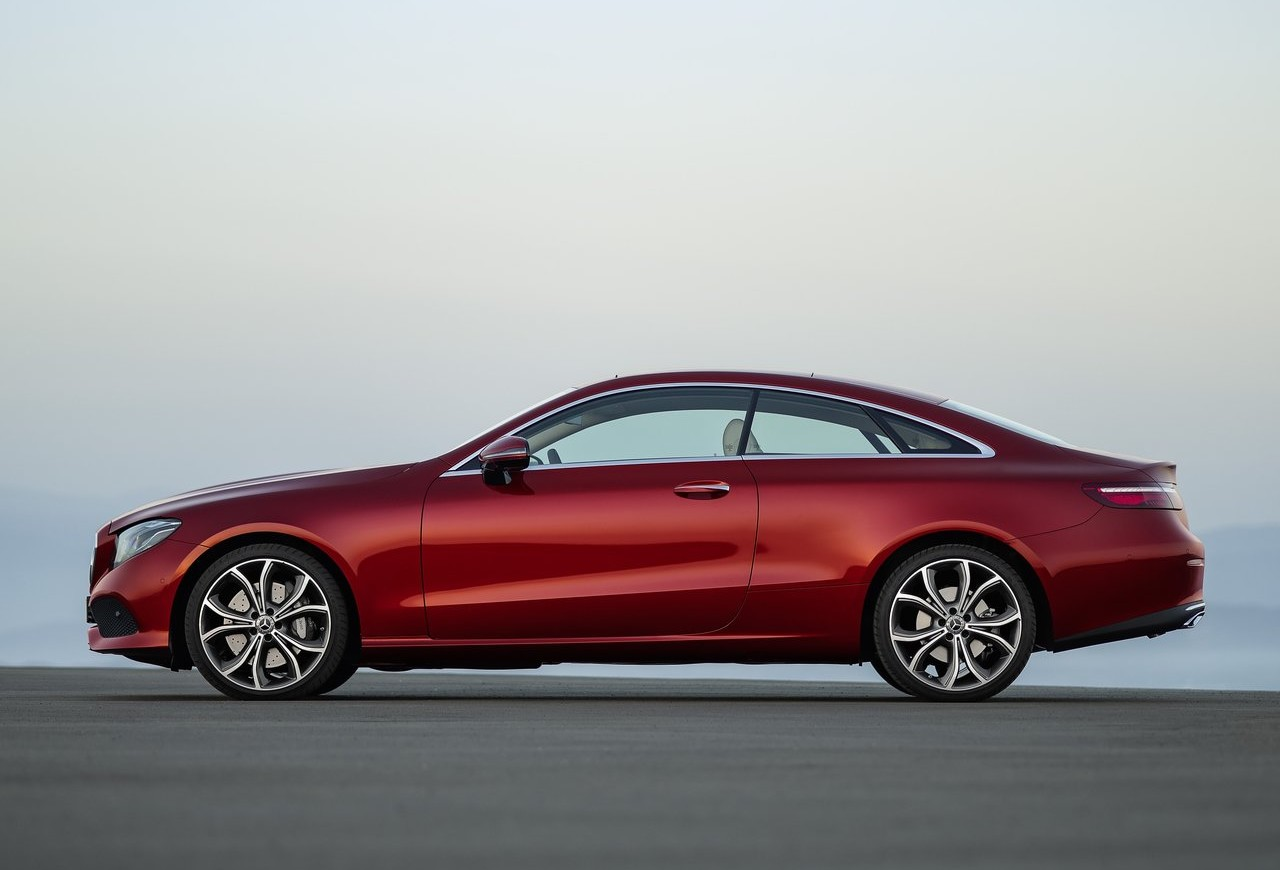 New 2017 mercedes benz e class coupe revealed for Mercedes benz e class coupe lease deals
