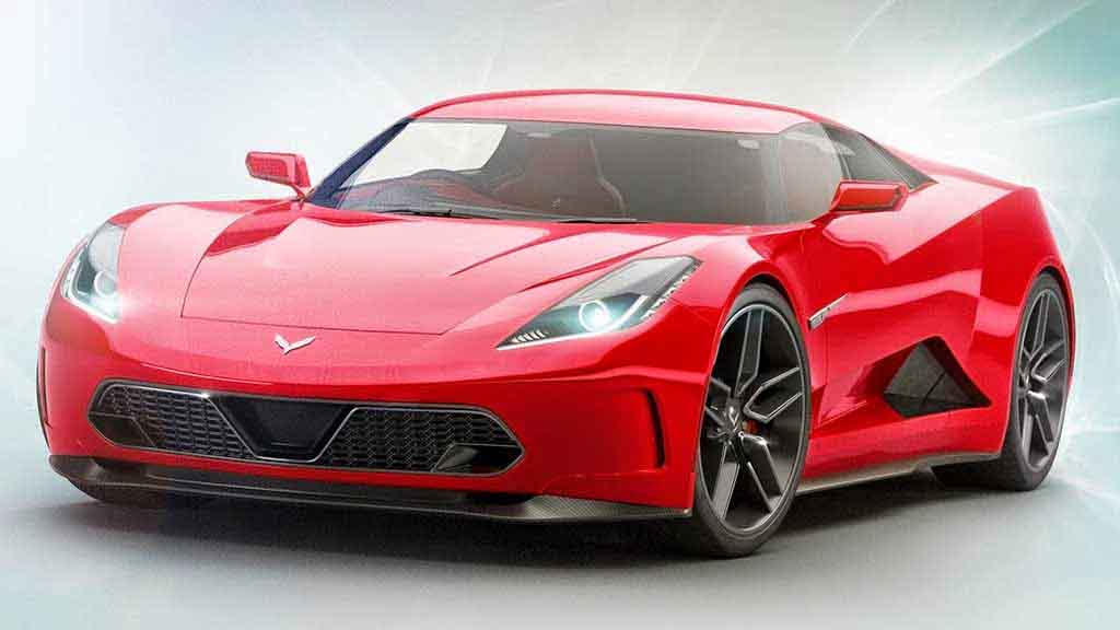 This Mid Engine Corvette To Replace C7 In Late 2018