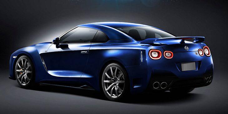 2017 Nissan Gt R Rear Jpg