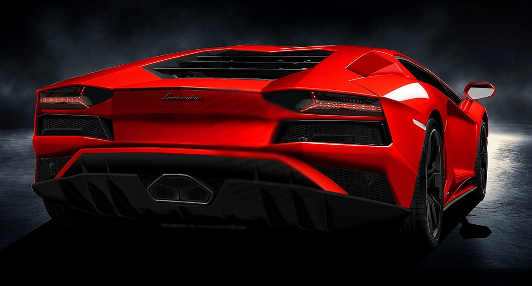 Lamborghini Aventador S Will Look Like This