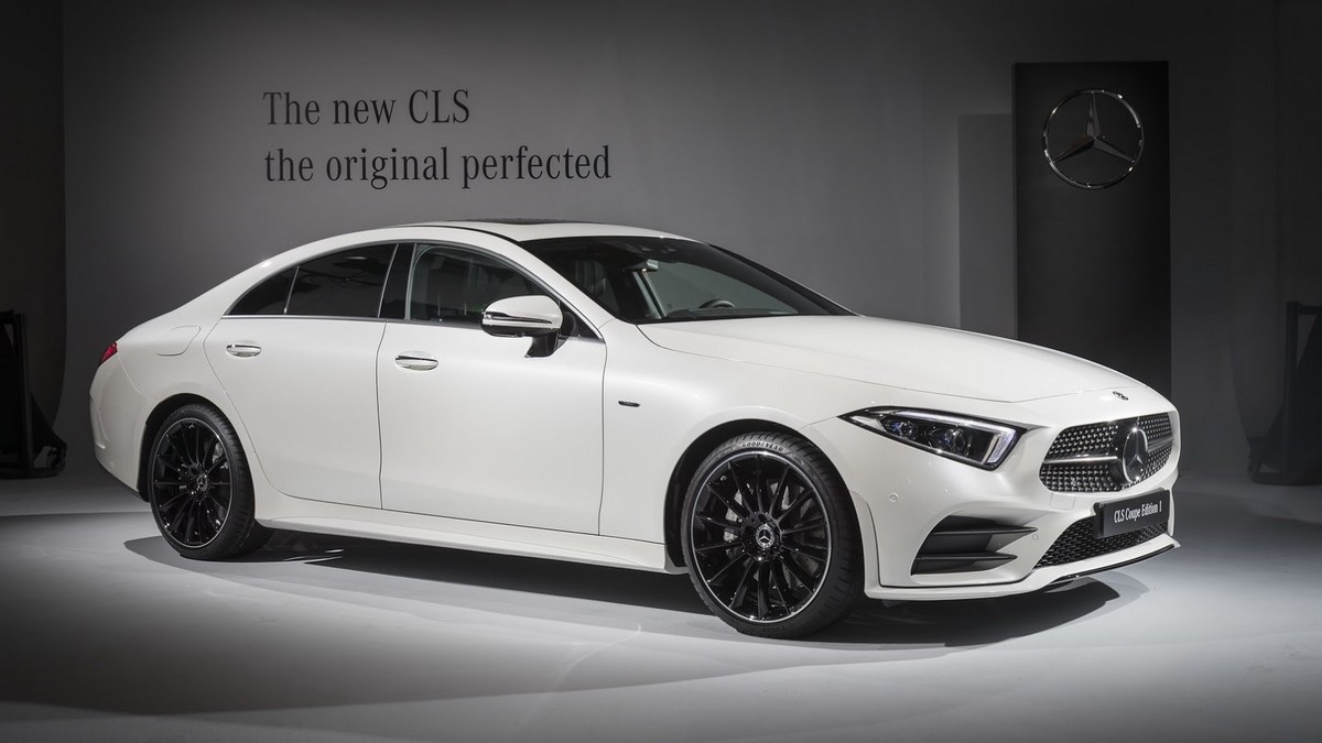 2019 mercedes benz cls coupe edition 1 for Mercedes benz cl coupe