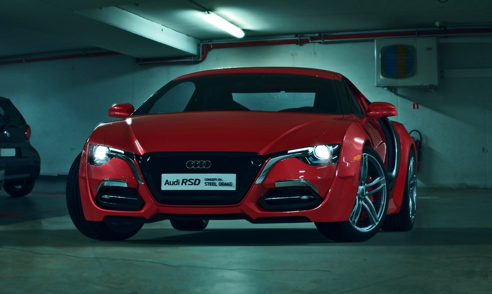 New Audi Rsd Concept By Steel Drake