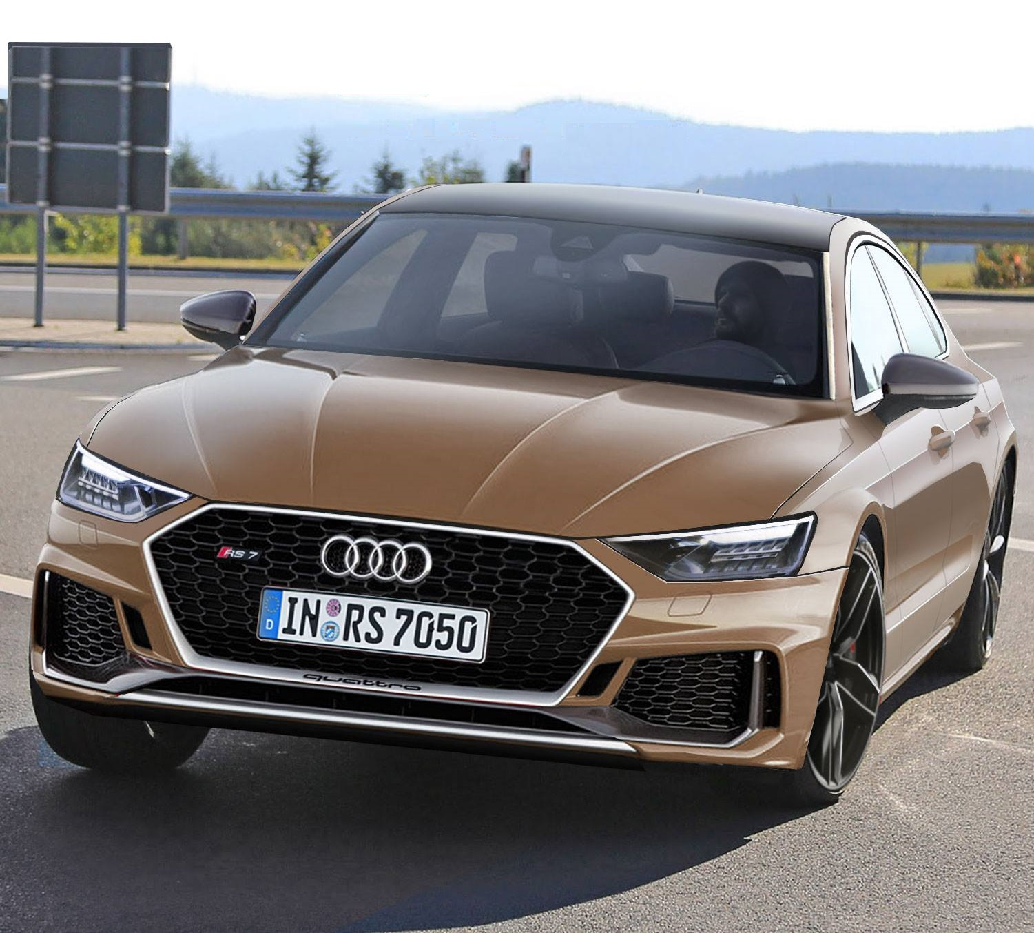 2019 Audi Rs7 Rendered New Pictures