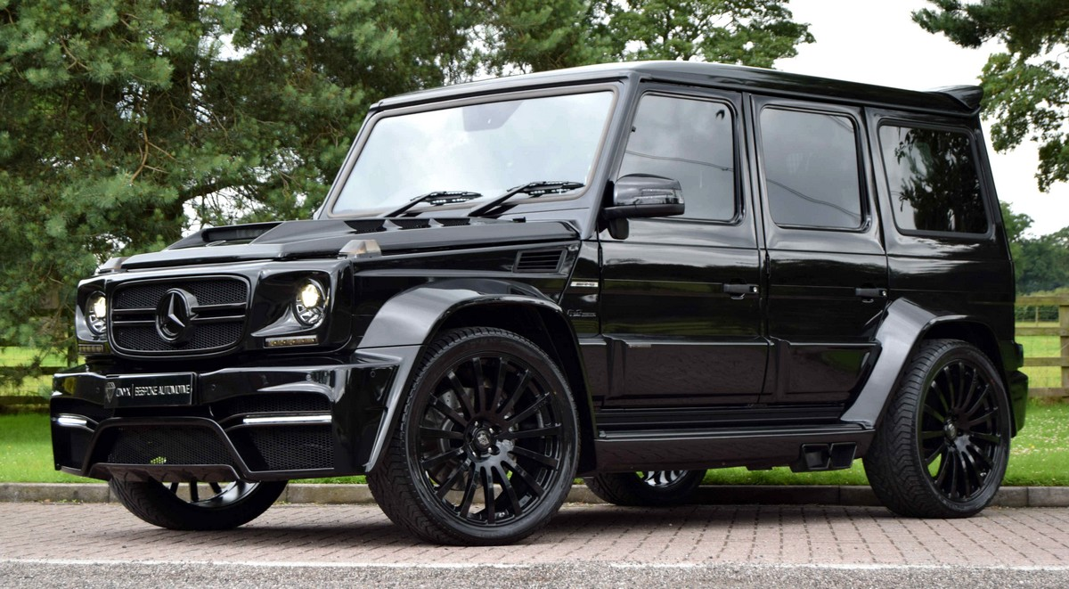 mercedes benz g class onyx savage suv with 700hp. Black Bedroom Furniture Sets. Home Design Ideas