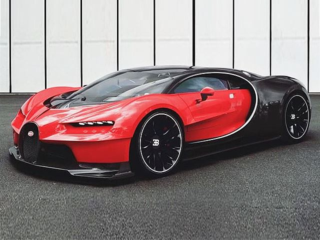 Is This The New Bugatti Chiron?