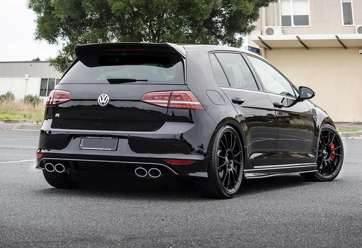 savage black on black golf mk7 r. Black Bedroom Furniture Sets. Home Design Ideas