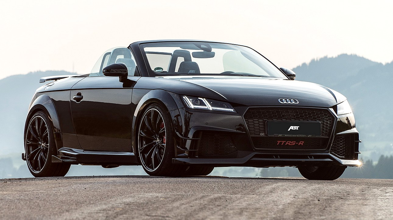 500ps abt audi tt rs r roadster can beat an r8. Black Bedroom Furniture Sets. Home Design Ideas