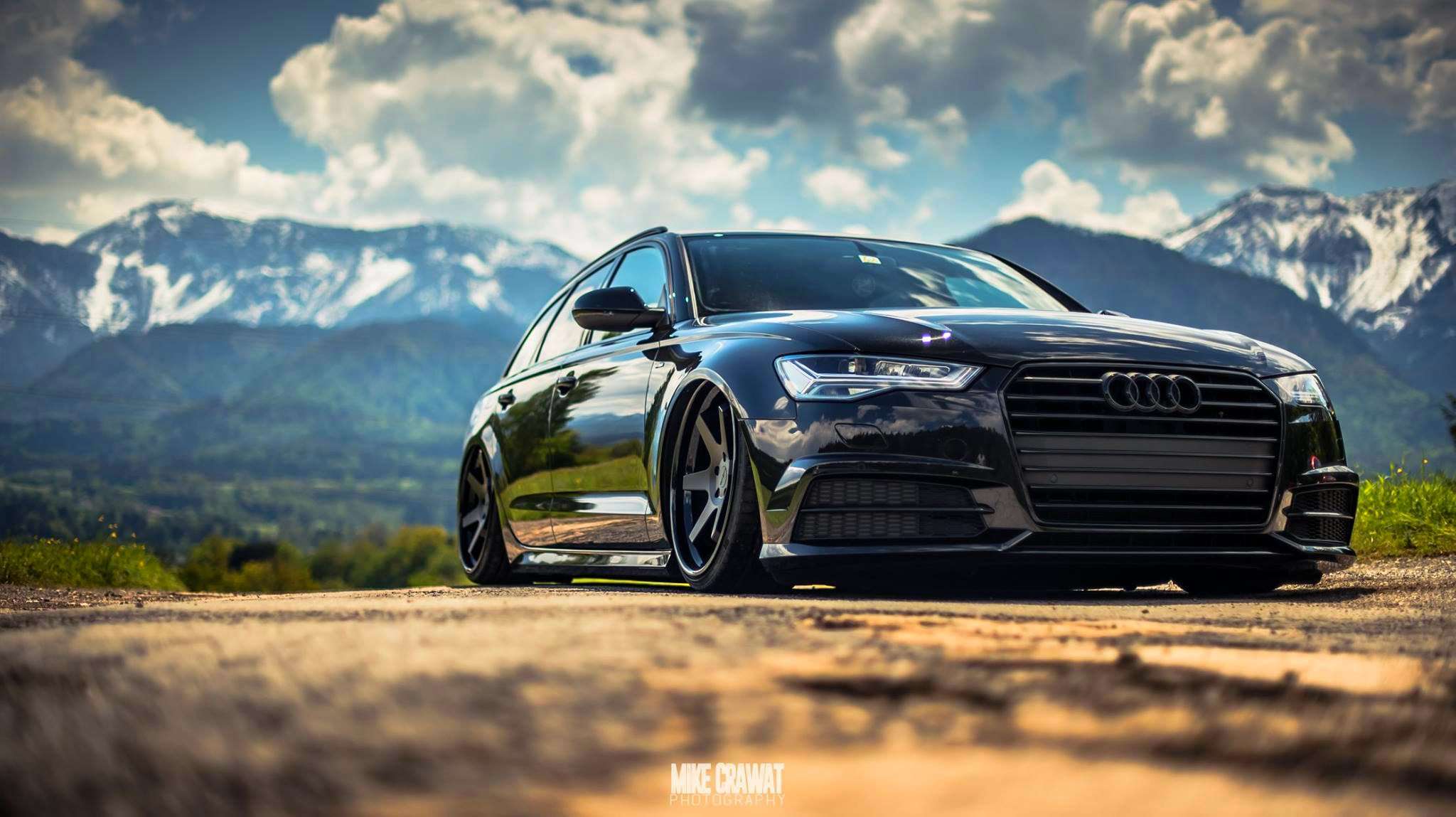 Black On Black Special Tuned Audi A6