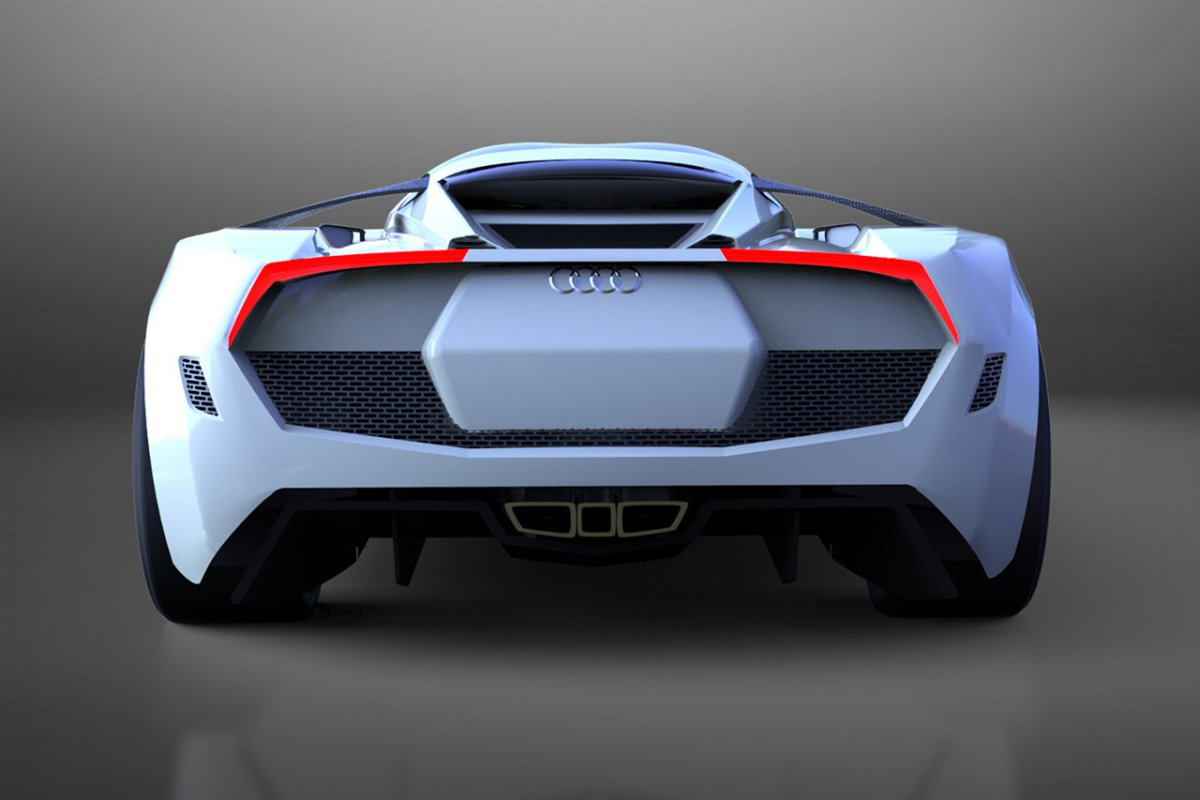 Audi R The New Hypercar Concept From Audi - Audi a10