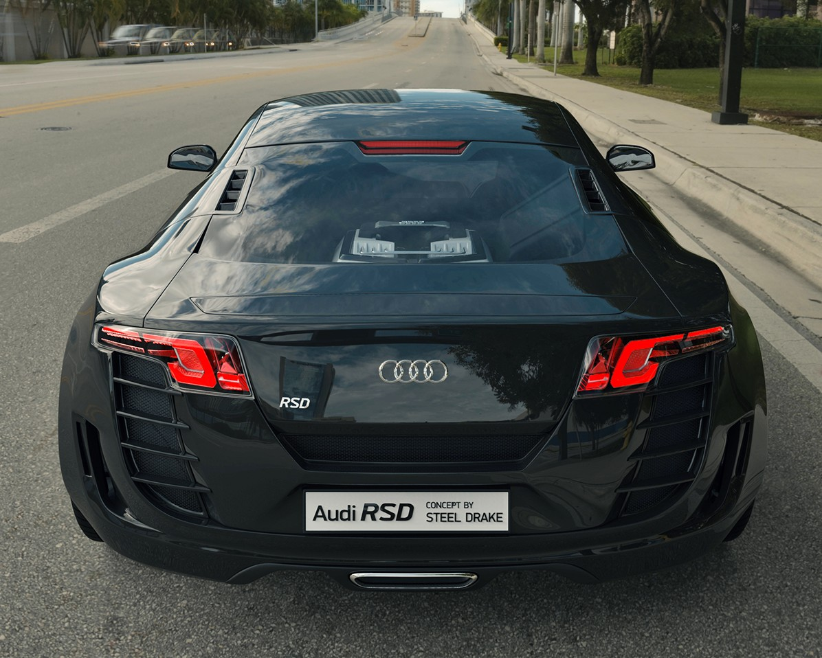 New Audi RSD Concept by Steel Drake!