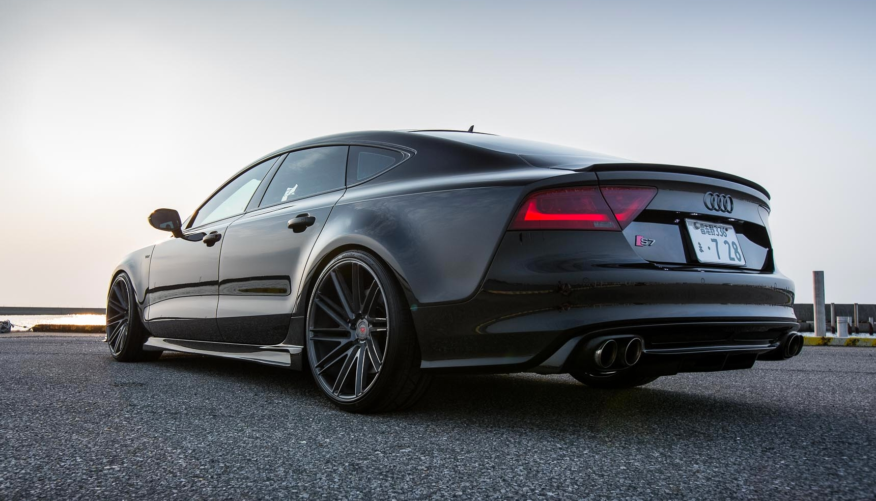 Hamana Audi S7 on Vossen Wheels!