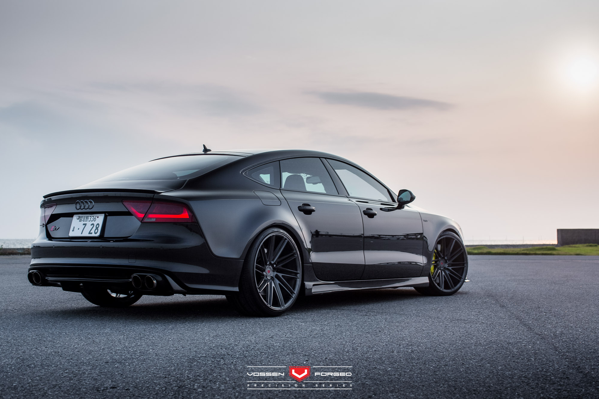 Hamana Audi S7 On Vossen Wheels