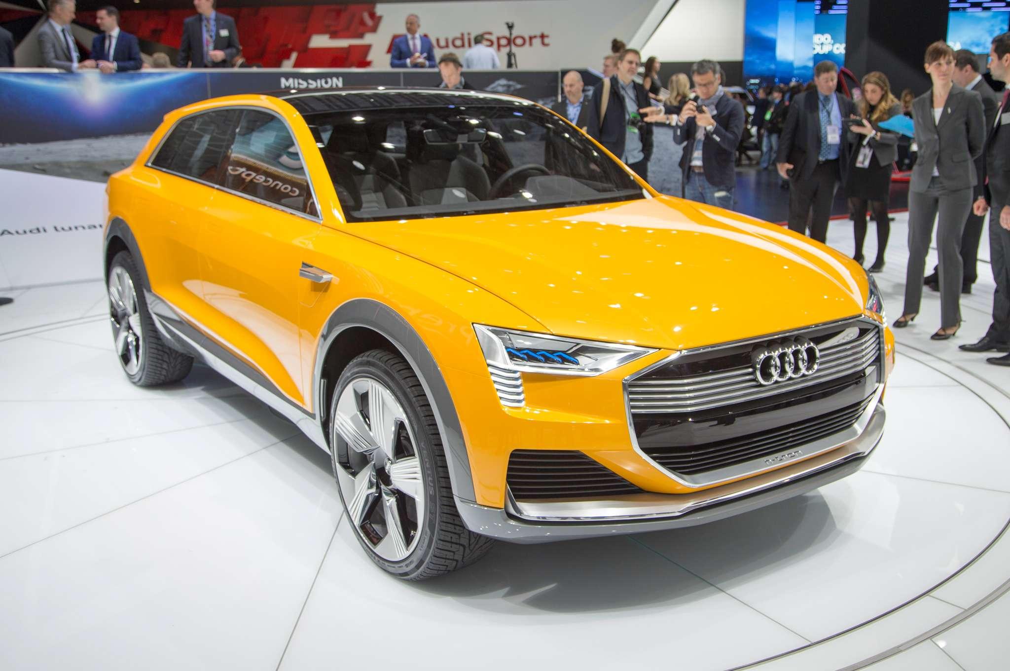 New Audi Q6 H-Tron, A Hydrogen Powered Car
