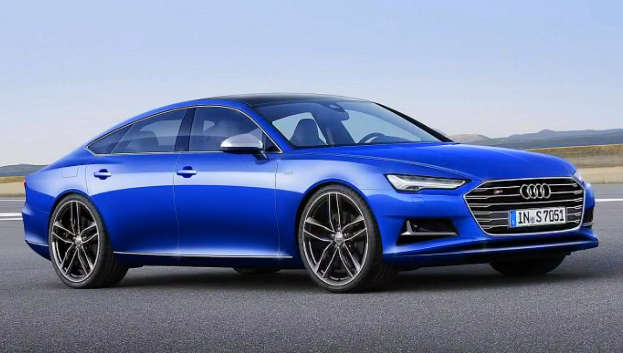 The 2017 Audi S7 New Line Design