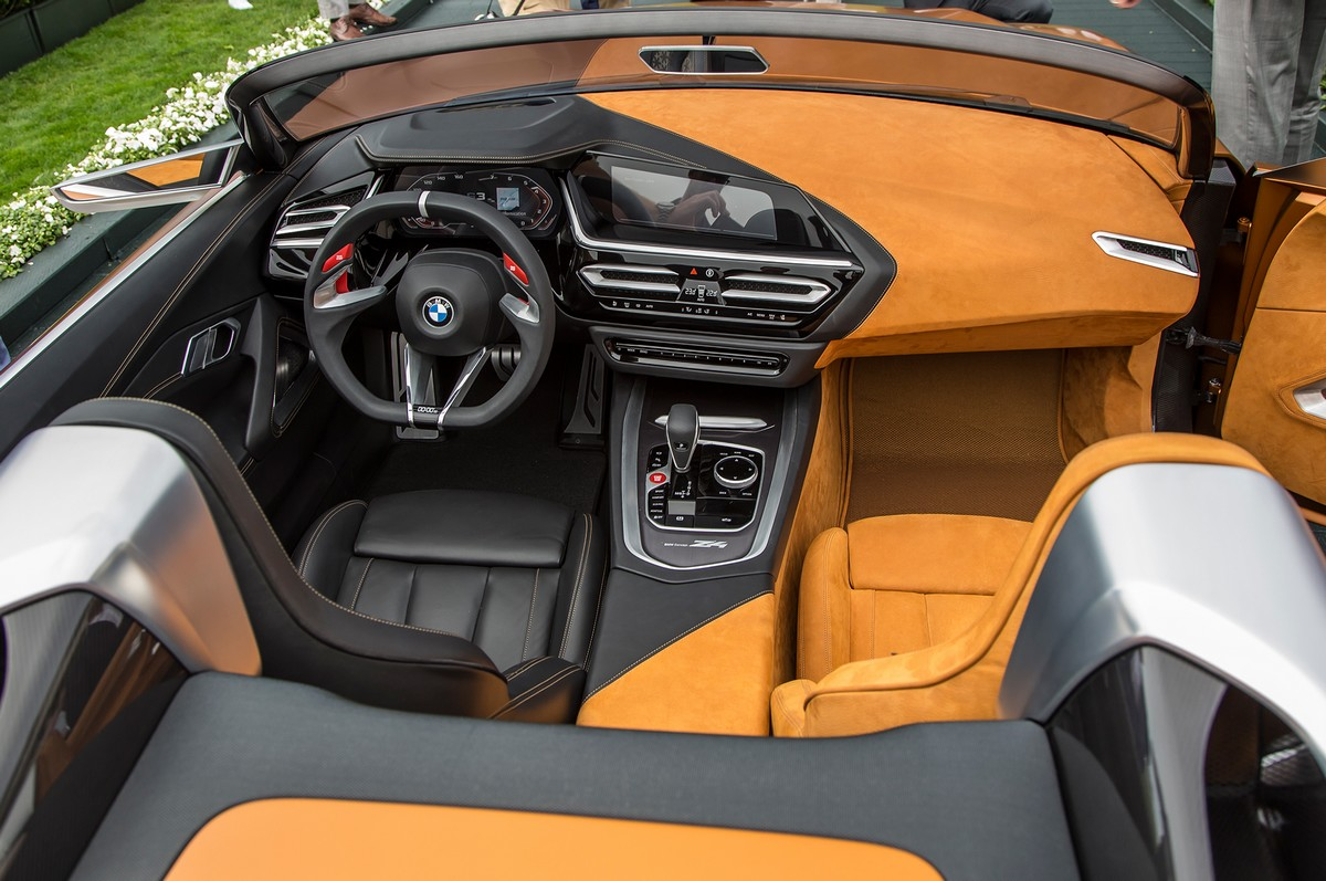 Bmw Concept Z4 Roadster Revealed At Pebble Beach