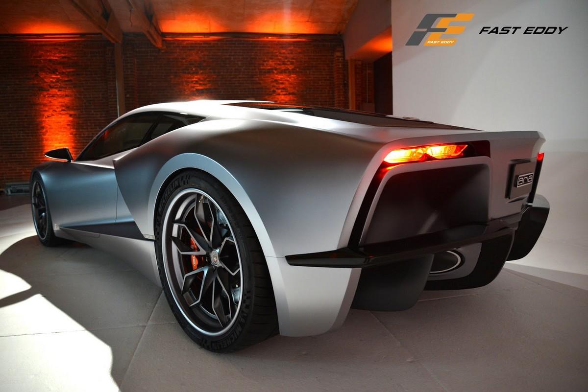 Aria Concept For A Mid-Engine C8 Corvette