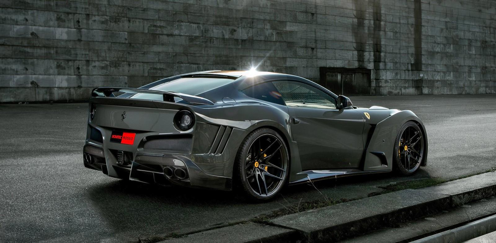 Ferrari F12 N Largo S By Novitec Rosso 784hp Photos