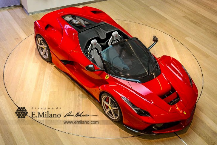 The New 2017 Ferrari Laferrari Spider For 5 1 Million