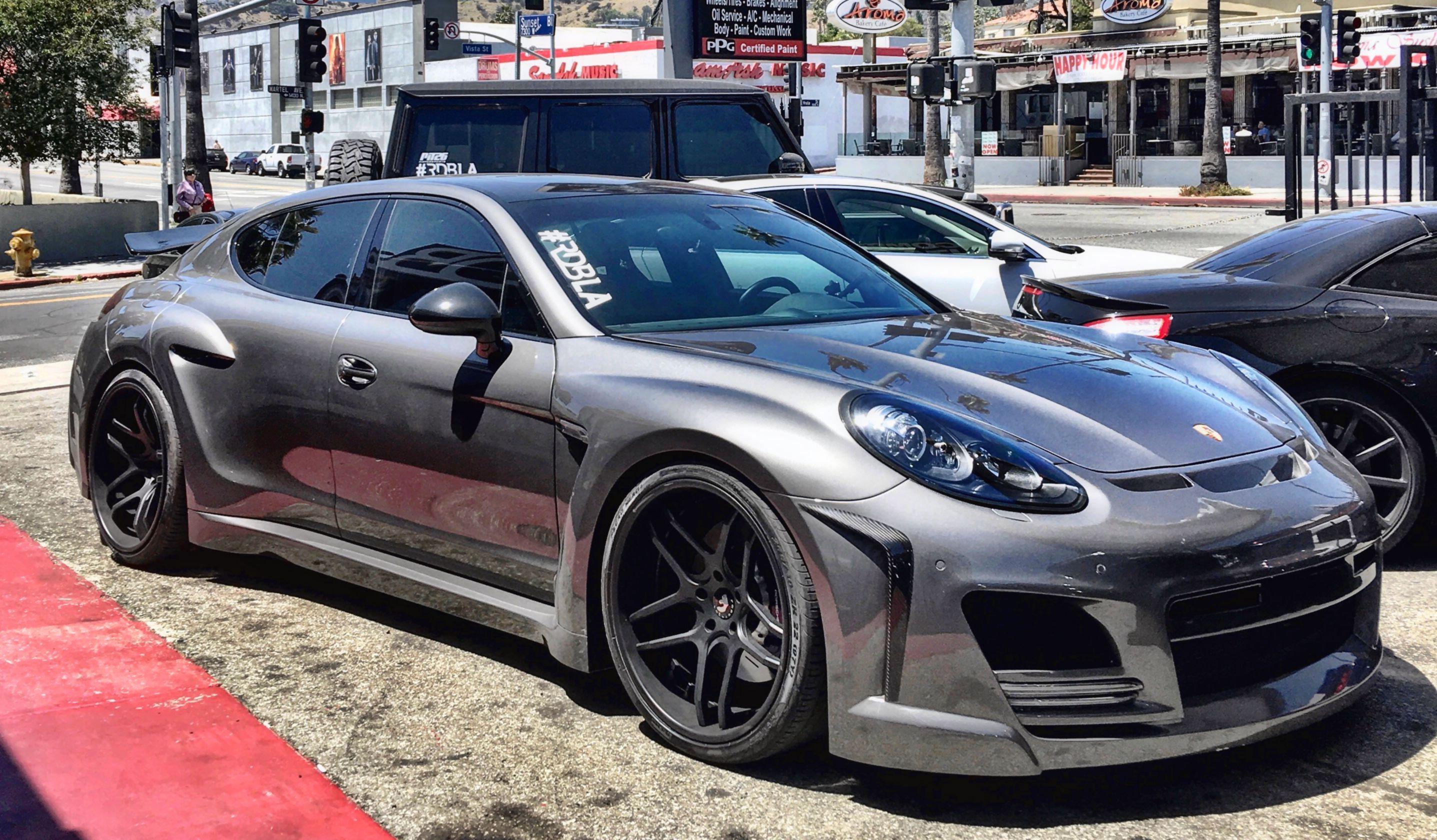 Fab Design Widebody Porsche Panamera Rdbla