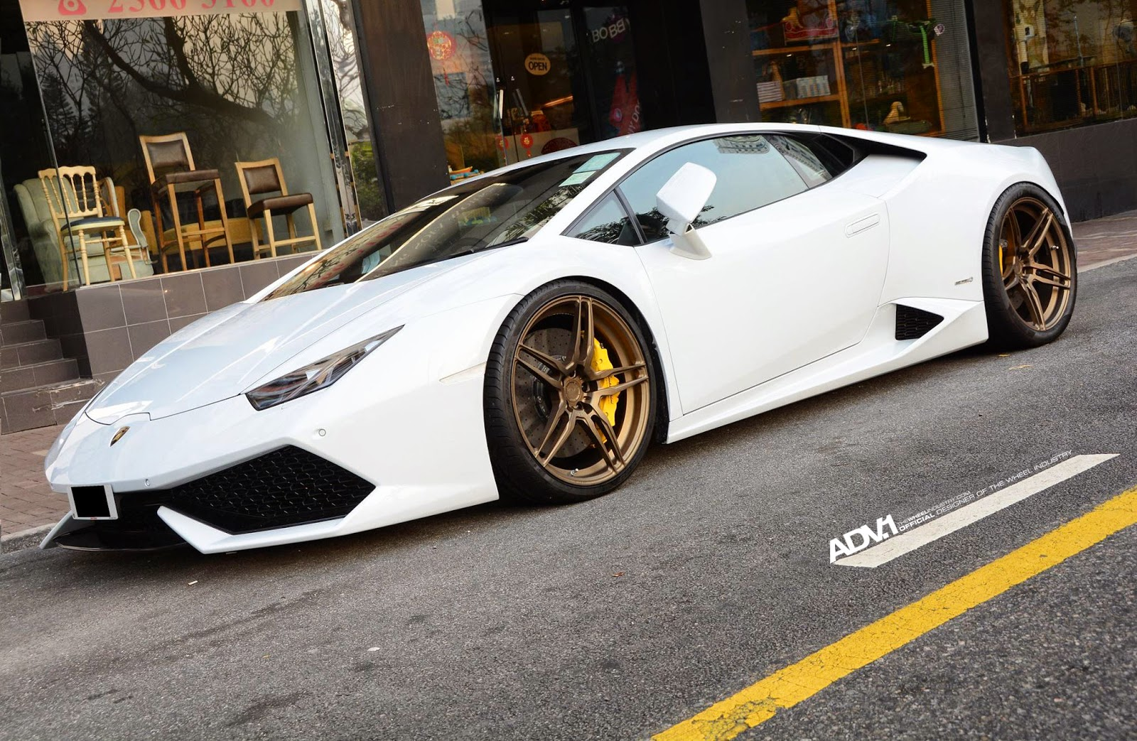 Lamborghini Huracan On Adv05 Mv1 Cs Wheels