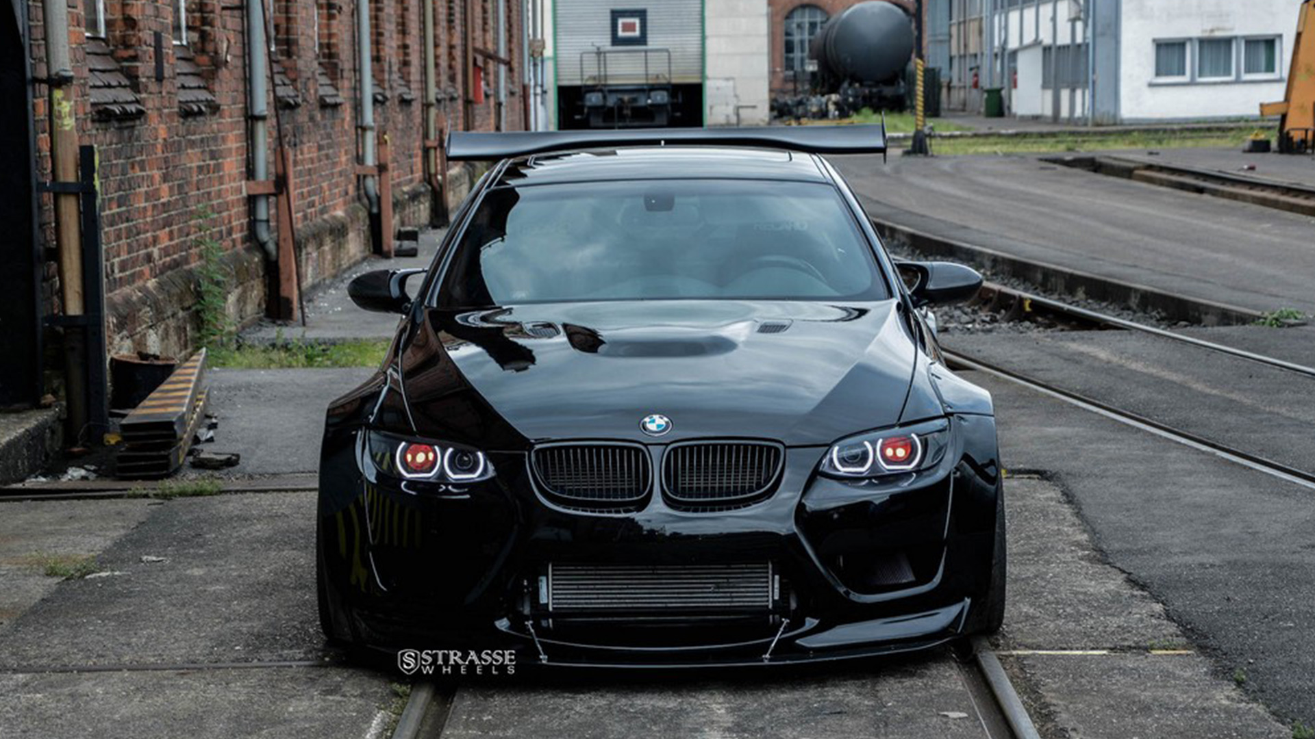 liberty walk supercharged bmw m3 e92 beast. Black Bedroom Furniture Sets. Home Design Ideas