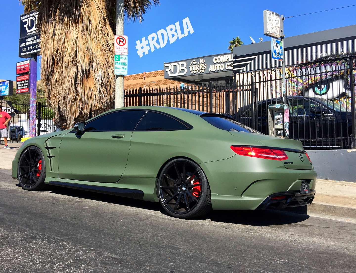 Military Green Wald S63 Coupe Mercedes Rdb