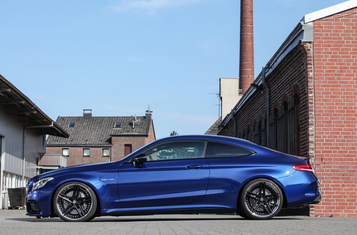 Mercedes-AMG C63 Coupe Tuned By Schmidt !