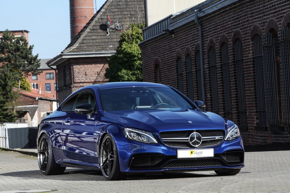 Mercedes amg c63 coupe tuned by schmidt for Mercedes benz c63 amg sedan