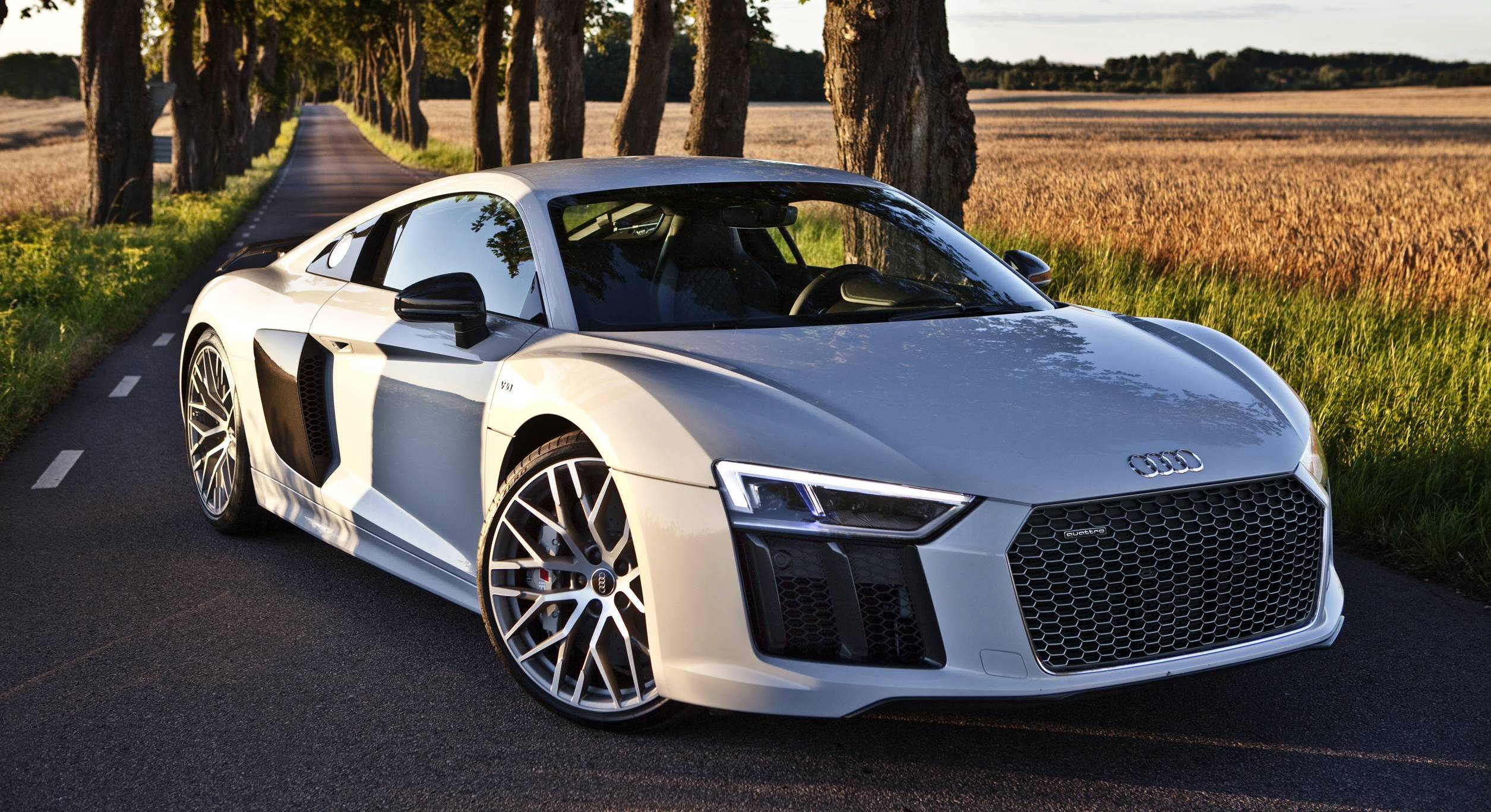 2017 audi r8 v10 plus in suzuka grey. Black Bedroom Furniture Sets. Home Design Ideas