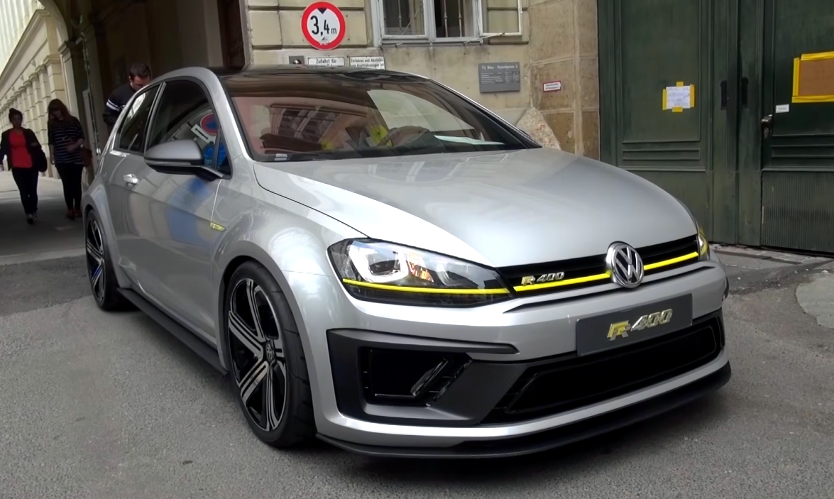 Hear The Vw Golf R400 Sound For The First Time