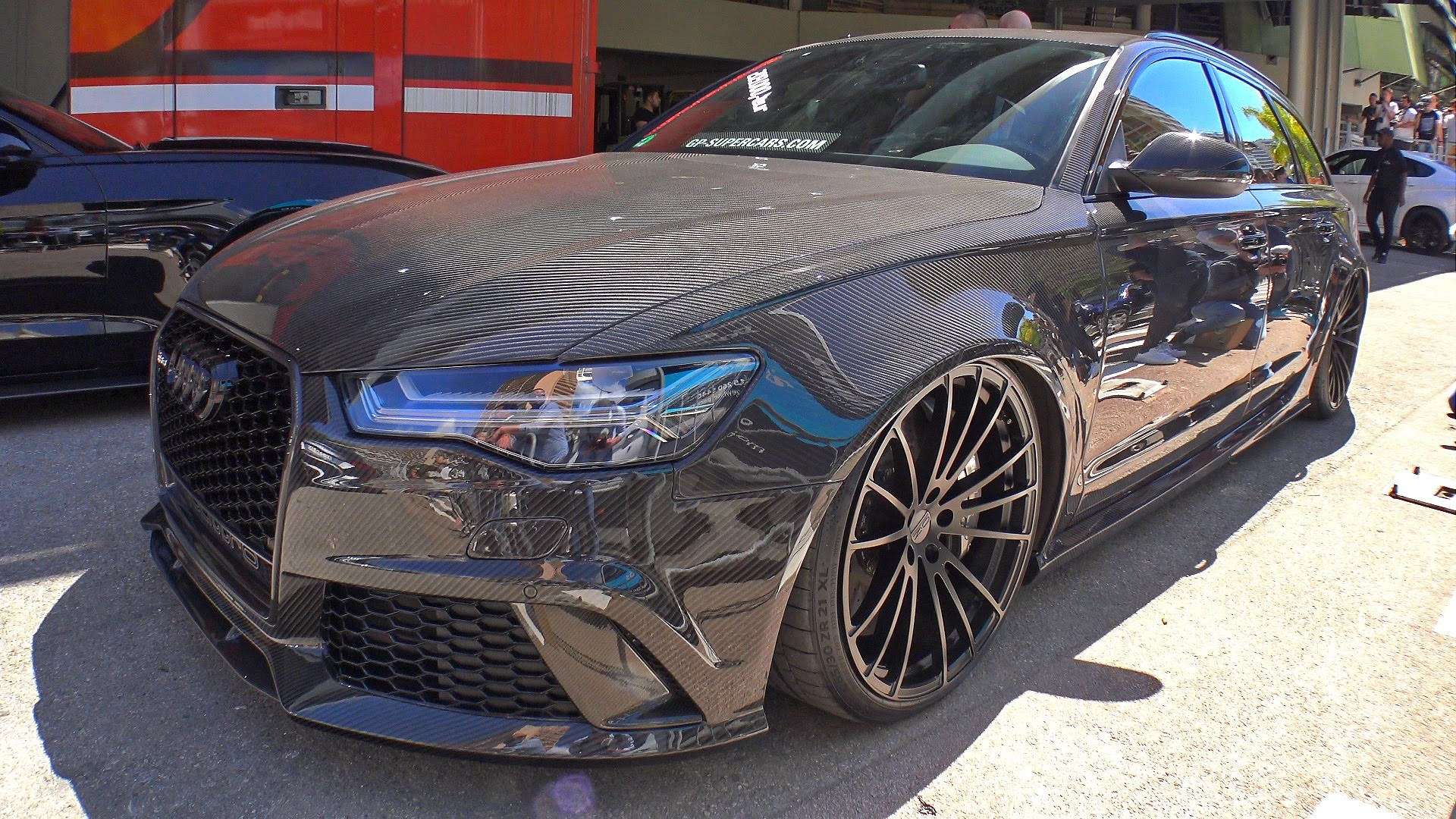 Audi RS6 Avant C7, Full Carbon Bodykit !