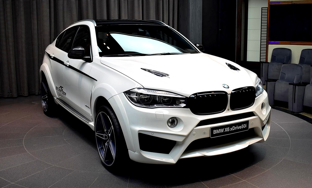 widebody bmw x6 xdrive50i by ac schnitzer. Black Bedroom Furniture Sets. Home Design Ideas