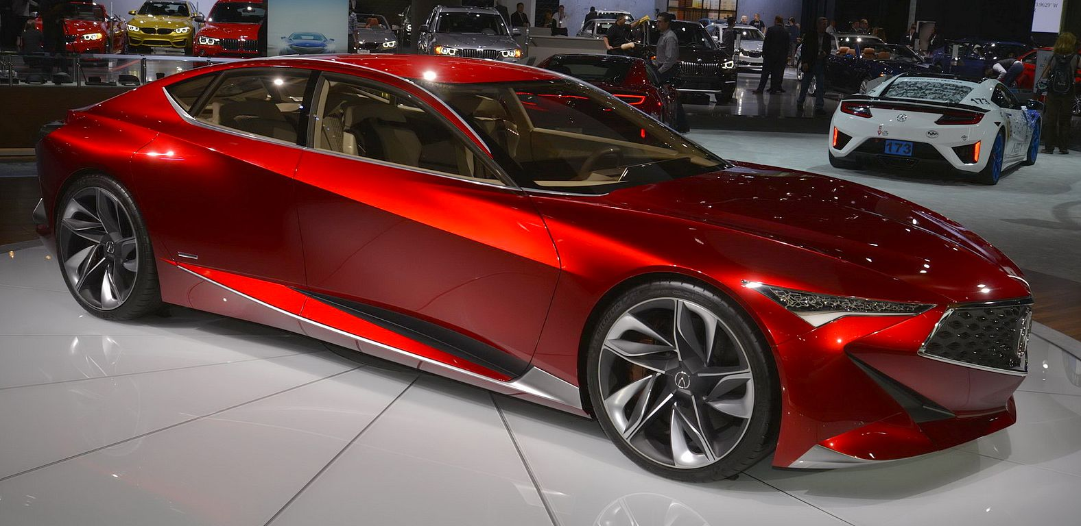 acura precision concept the queen of 2016 la auto show. Black Bedroom Furniture Sets. Home Design Ideas
