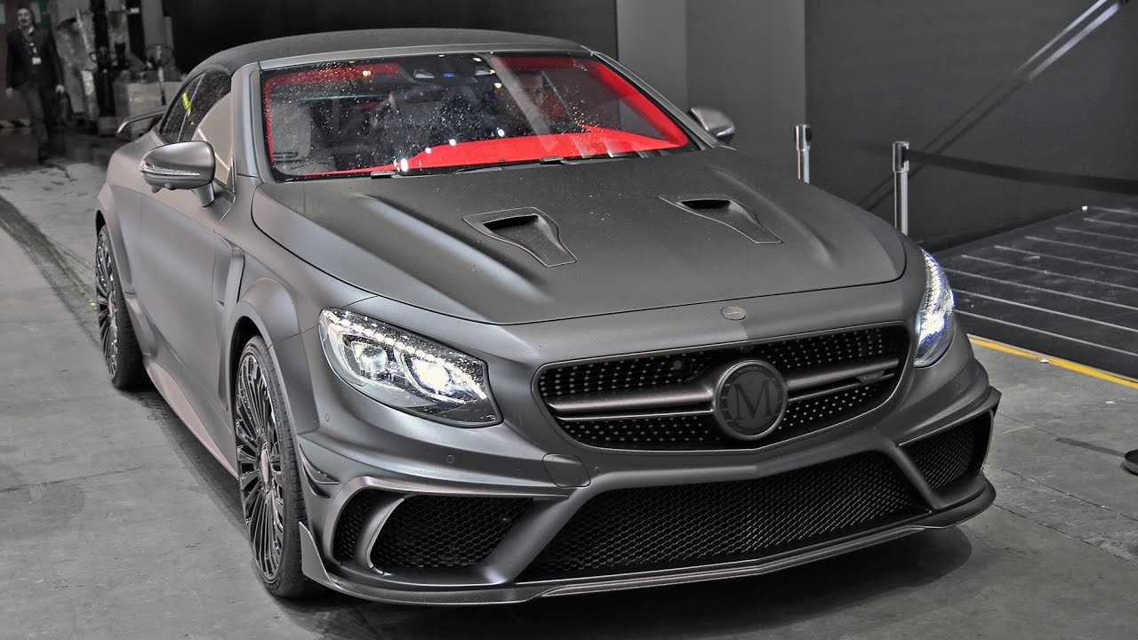 Mansory Mercedes S63 Amg Convertible In Action