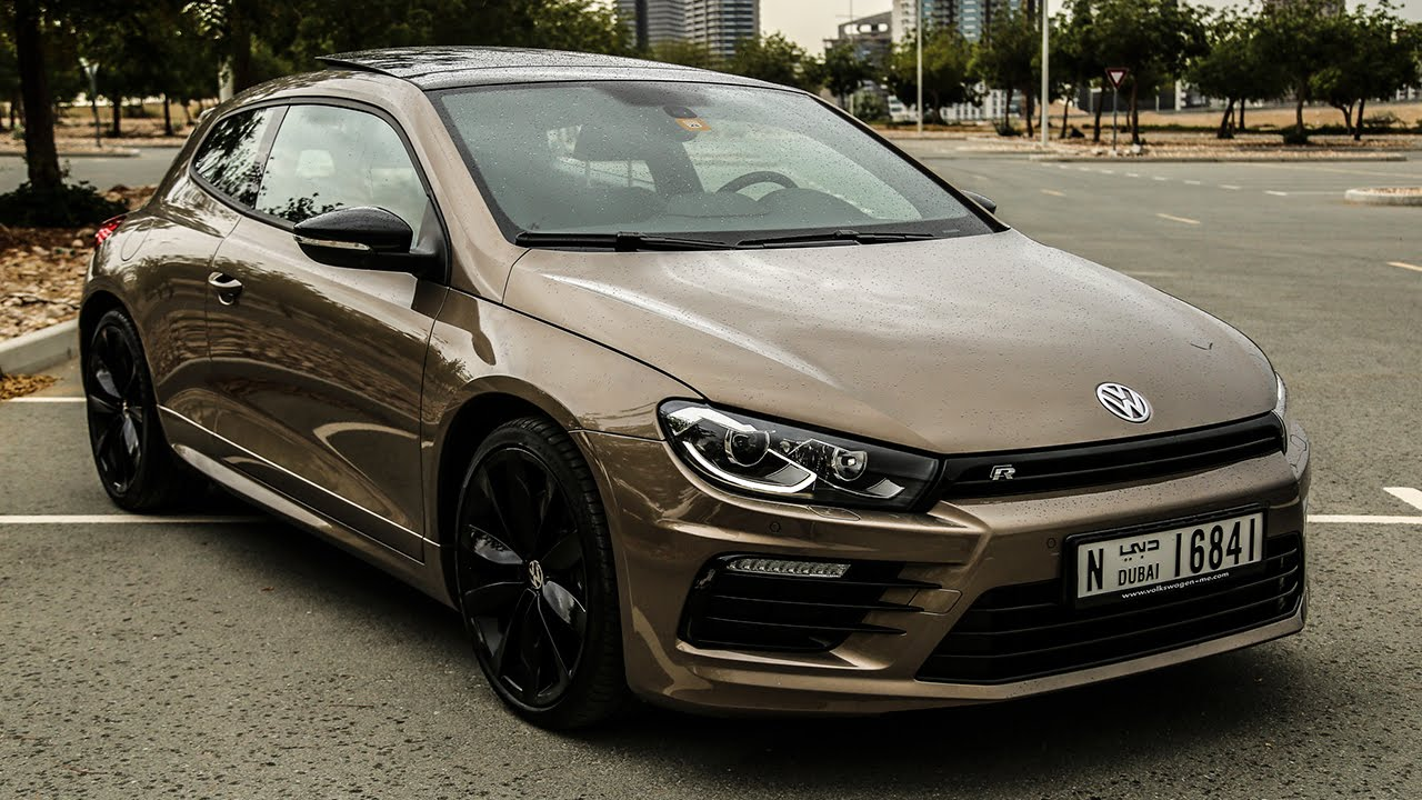 brown volkswagen scirocco r from dubai. Black Bedroom Furniture Sets. Home Design Ideas