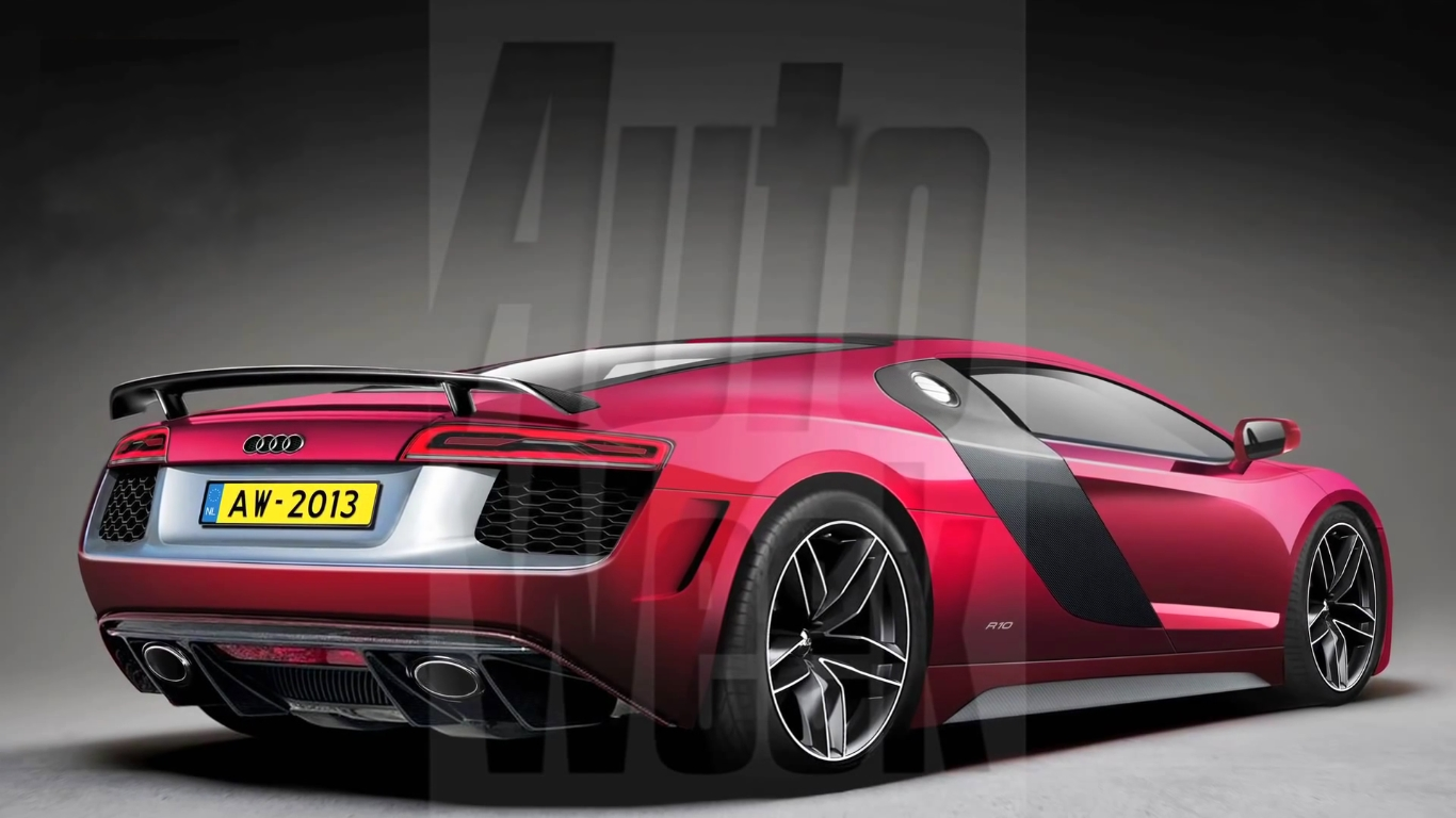 The Audi R10 Concept, High end Series Of Audi