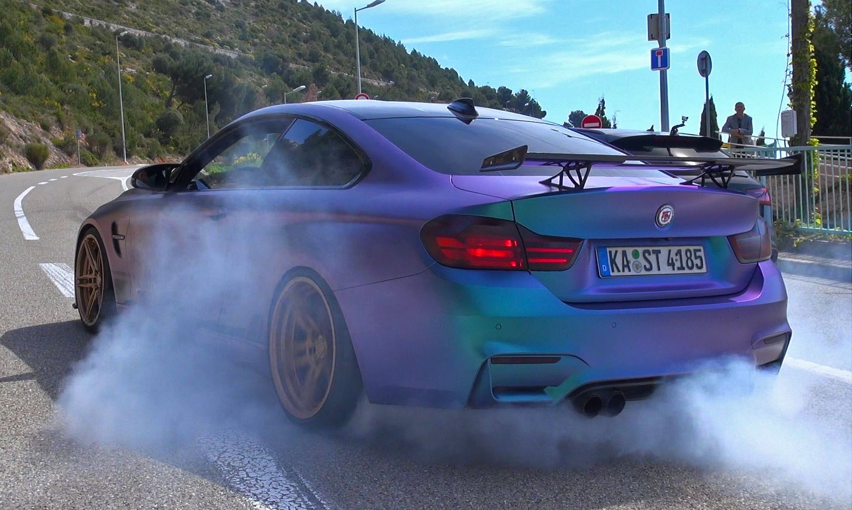 This Bmw M4 Pp Performance Is Savage