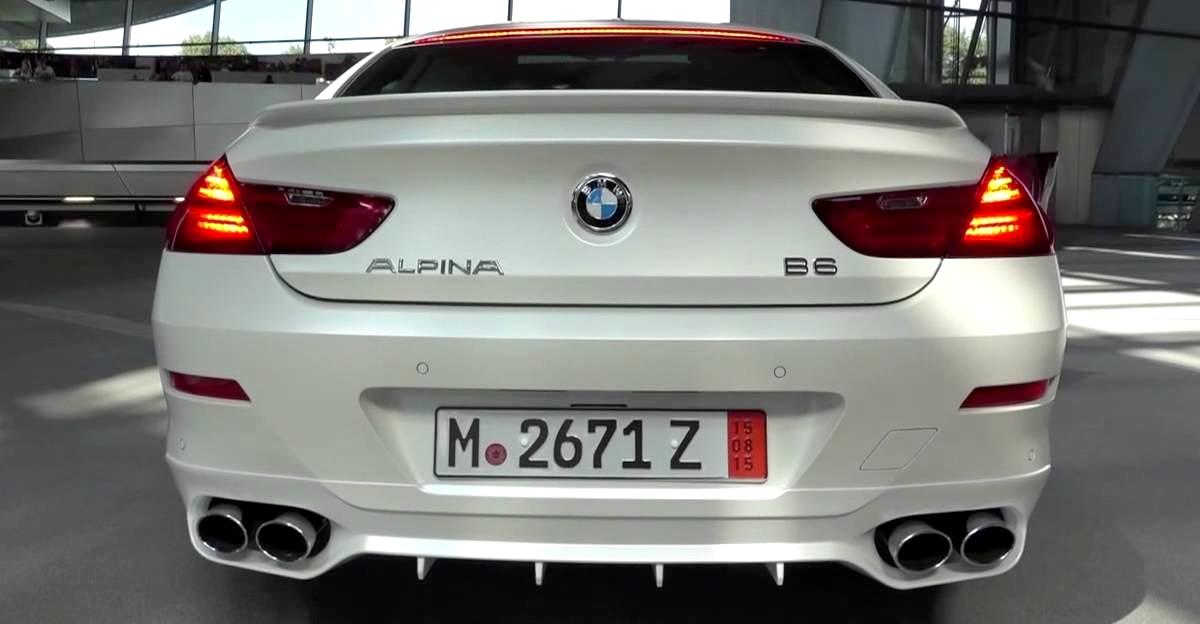 Bmw Alpina B6 Bi Turbo Startup Amp Revs