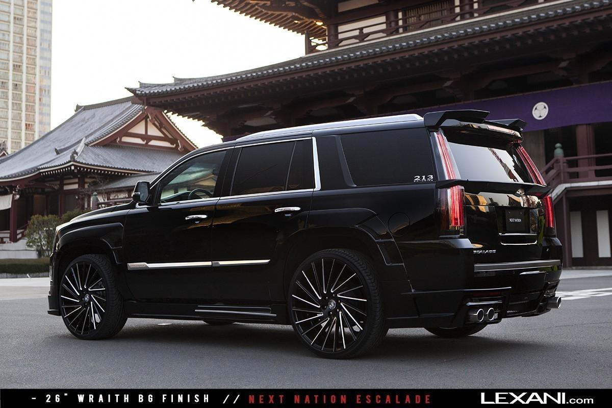 2016 Cadillac Escalades On Lexani Wheels