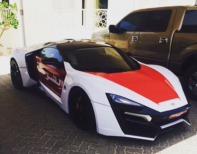 Lykan Hypersport Joins The Abu Dhabi Police Force So What Does All That Cost