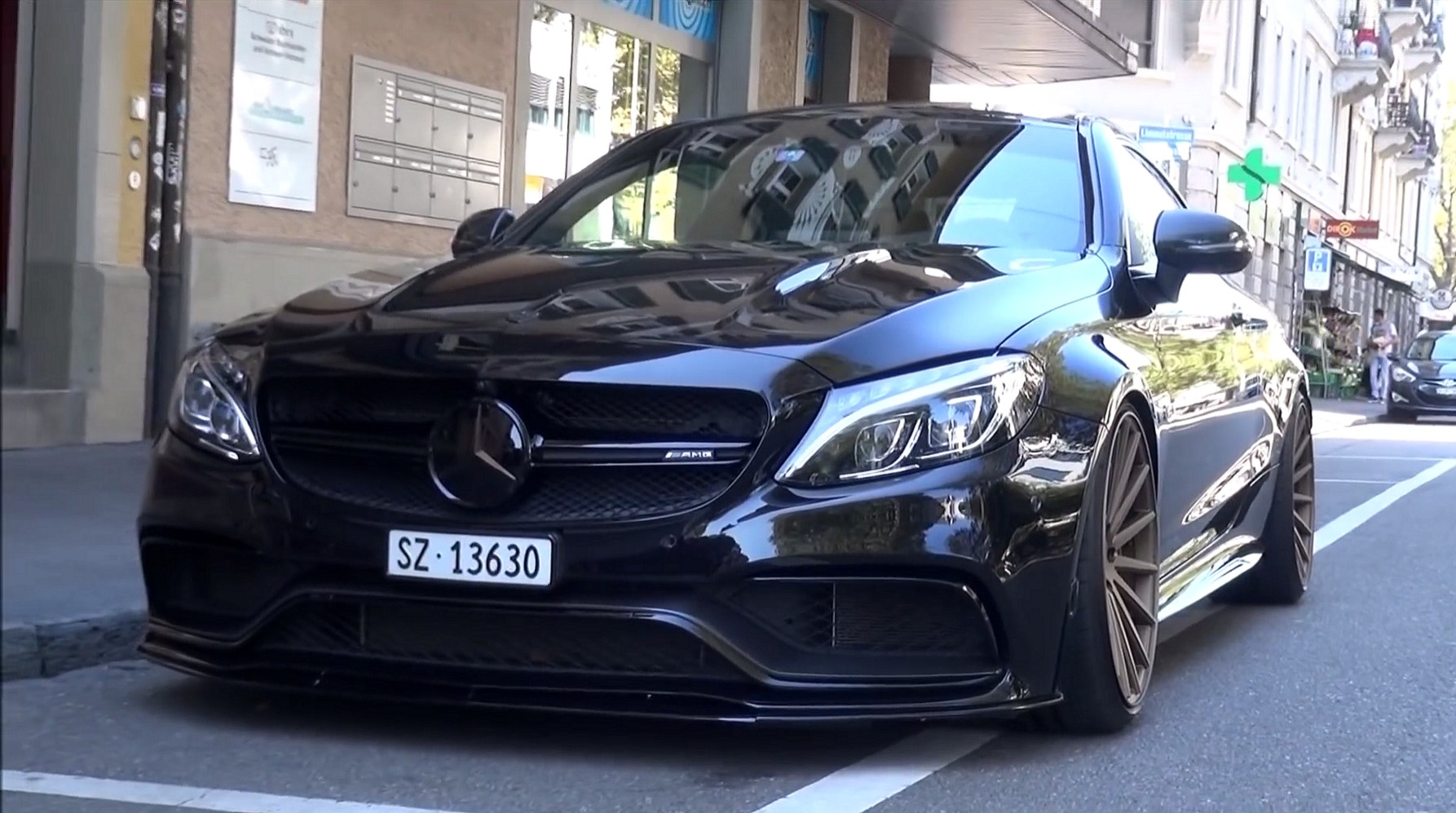 510hp Mercedes C63s Amg Coup 233 Edition 1