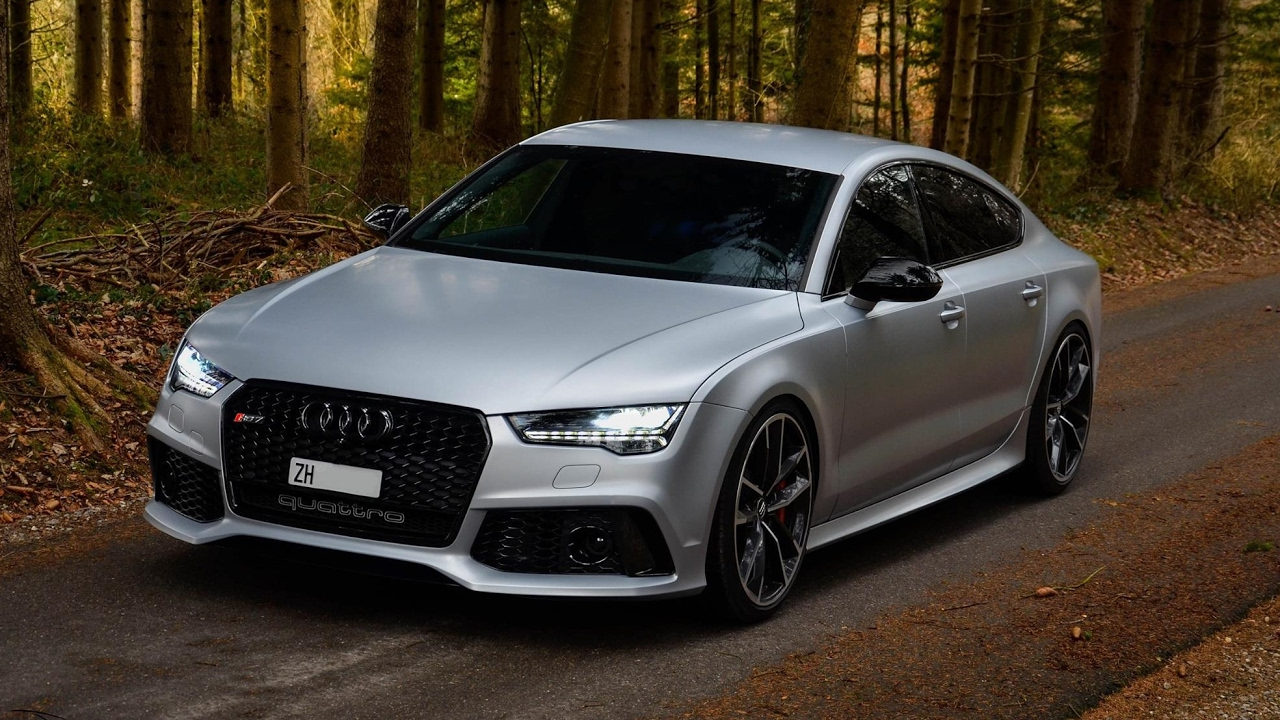 2017 Audi Rs7 Performance In Action 605 Hp