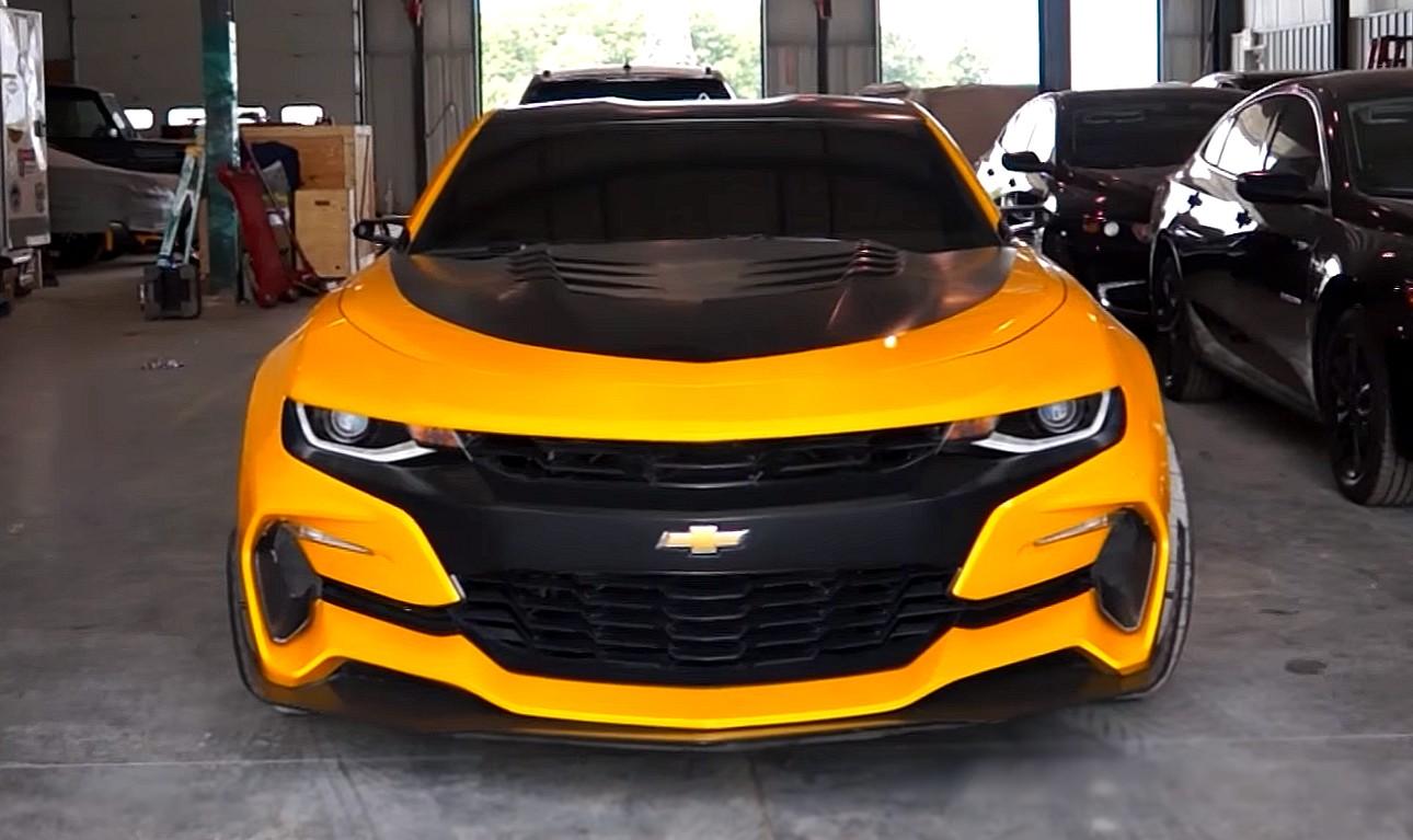 Transformers: Savage Bumblebee Camaro ZL1