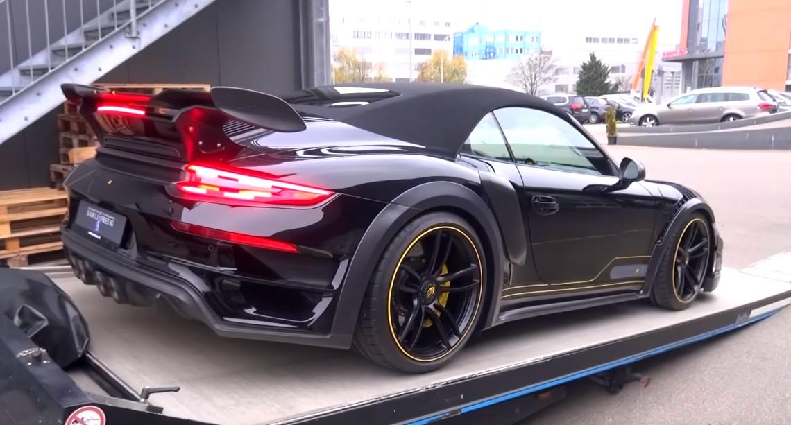 720hp Porsche Techart Gt Street R Convertible In Switzerland