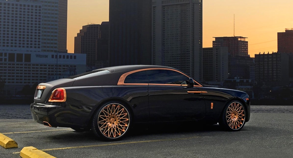 Rolls Royce Wraith On Lexani Wheels Perfect