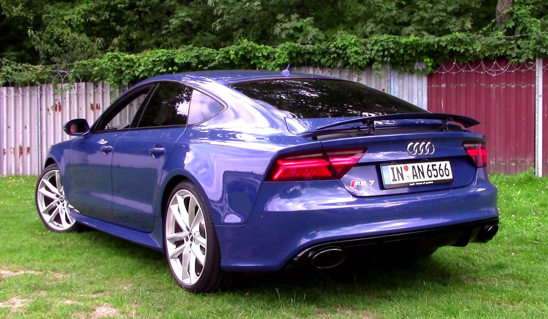 Audi Rs7 Sportback Performance Extreme Sound